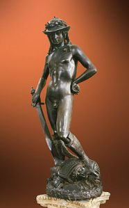 http://en.wikipedia.org/wiki/David_(Donatello)