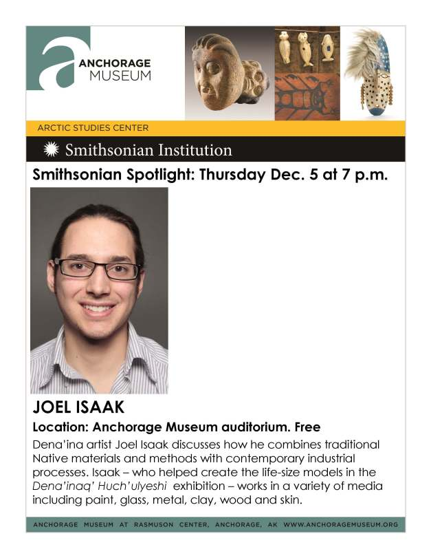 Anchorage Museum Smithsonian Spotlight Talk